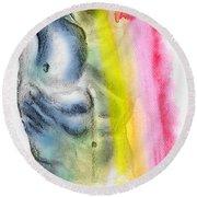 Love Colors - 4 Round Beach Towel