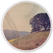 Love Lifts Us Up Round Beach Towel
