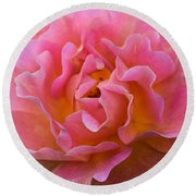 Lovely In Pink Round Beach Towel