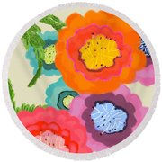 Lovely Square Round Beach Towel