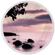 Lovina Sunset - Bali Round Beach Towel