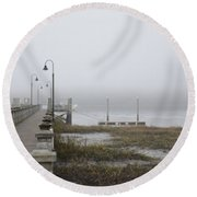 Lowcountry Waters Round Beach Towel