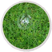 Lucky Bubble Round Beach Towel