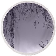 Lullaby Moments II Round Beach Towel