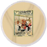 Lumina Geneve Round Beach Towel