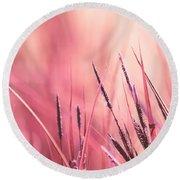 Luminis - S09c - Pink Round Beach Towel