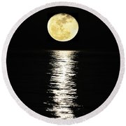 Lunar Lane 03 Round Beach Towel by Al Powell Photography USA