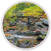 Macedonia Brook Square Round Beach Towel