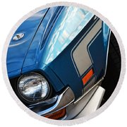 Mach 1 Ford Mustang 1971 Round Beach Towel
