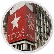 Macy's Department Store Round Beach Towel