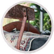 Magic Carpet Ride Southern Style Round Beach Towel