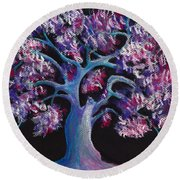 Magic Tree Round Beach Towel