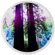 Magical Round Beach Towel