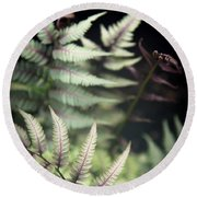 Magical Forest 1 Round Beach Towel