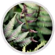 Magical Forest 3 Round Beach Towel