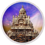 Magical India Round Beach Towel