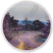 Magical Landscape Round Beach Towel