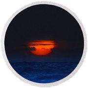 Magical Sunrise Round Beach Towel