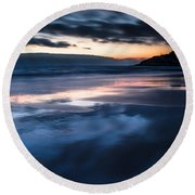Magical Sunset Round Beach Towel