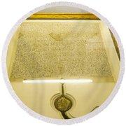 Magna Carta Round Beach Towel
