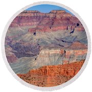 Magnificent Canyon - Grand Canyon Round Beach Towel