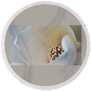 Magnolia Blosoom - 3 Round Beach Towel