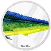 Mahi Mahi Round Beach Towel