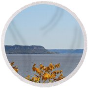 Maiden Rock Round Beach Towel
