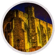 Maidstone Church Round Beach Towel