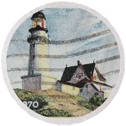 Maine 1820-1970 Round Beach Towel
