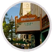 Mainzer Theater Round Beach Towel