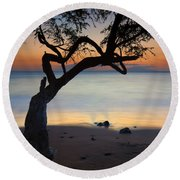 Makena Breeze Round Beach Towel