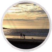 Making Memories Round Beach Towel