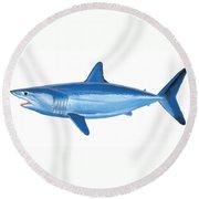 Mako Shark Round Beach Towel