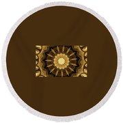 Mandala 014-1 Round Beach Towel
