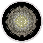 Mandala 1 Round Beach Towel