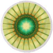 Mandala Of The Hope Round Beach Towel