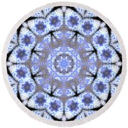 Mandala101 Round Beach Towel