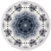 Mandala127 Round Beach Towel