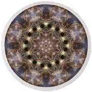 Mandala88 Round Beach Towel