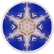 Mandala93 Round Beach Towel