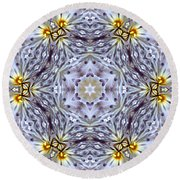 Mandala94 Round Beach Towel
