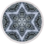 Mandala95 Round Beach Towel