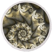 Mandelbrot Set Round Beach Towel