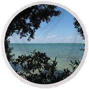 Mangrove Round Beach Towel