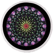 Manifestation Round Beach Towel