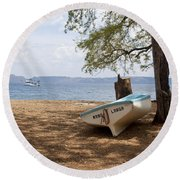 Mano Larga Round Beach Towel