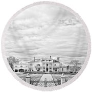 Mansion Rye New Hampshire Open Edition Round Beach Towel