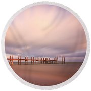 Marathon Key Long Exposure Round Beach Towel