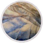 Marble 12 Round Beach Towel